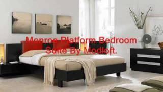 High End Bedroom Furniture Leather Bed, Modern Leather Bed Sets, Contemporary Leather Beds.