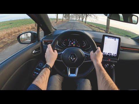 New Renault Clio V 2020 | 4K POV Test Drive #406 Joe Black