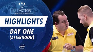 Day One Afternoon Highlights | 2020 BetVictor World Cup of Darts