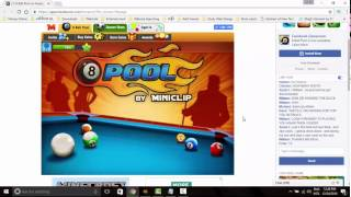Hack 8 Ball Pool PC Browser 2017