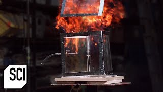 Testing the Perfect Stoichiometric Ratio of Methane | MythBusters