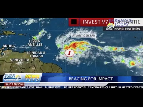 BARBADOS TODAY AFTERNOON UPDATE - September 27, 2016