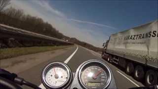 Suzuki SV650 ... Autobahn TOPSPEED GoPro3