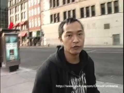 Ken Leung (Rush Hour, X-Men 3) for Barack Obama