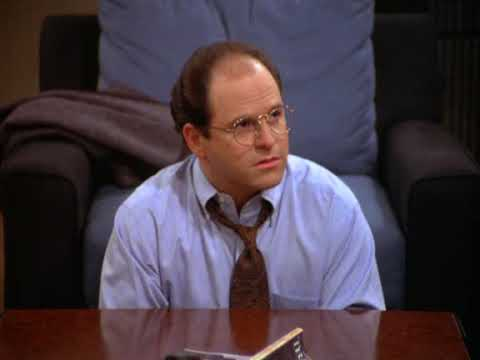 Seinfeld - George Costanza ponders about potential jobs
