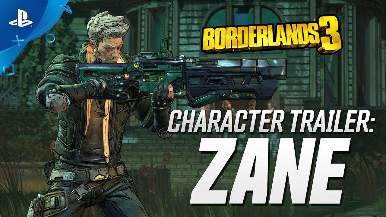 Borderlands 3 - Zane Character Trailer: Friends Like Zane | PS4
