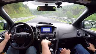2017 Focus RS Passed a Ferrari! 19.05.2018 Driver Jon Teaches the Nurburgring Nordschleife thumbnail