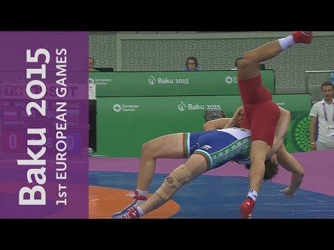 DAY 1 Replay   Wrestling, Volleyball & Table Tennis   Baku 2015 European Games