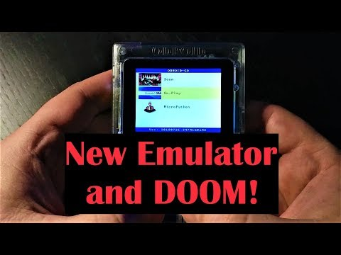 ODROID-GO Firmware Update Tutorial and Gameplay (now with ColecoVision &  DOOM!)