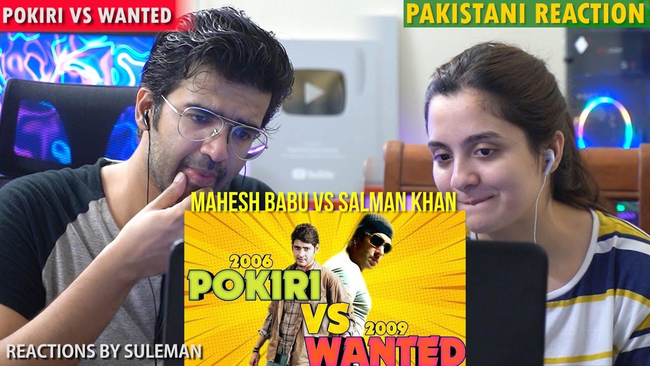 Pakistani Couple Reacts To Pokiri Vs Wanted | Bollywood Vs Tollywood | Salman Vs Mahesh Babu