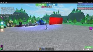 Roblox Miner's Haven - Показываю как получить 962 OcD (Пробное видео)