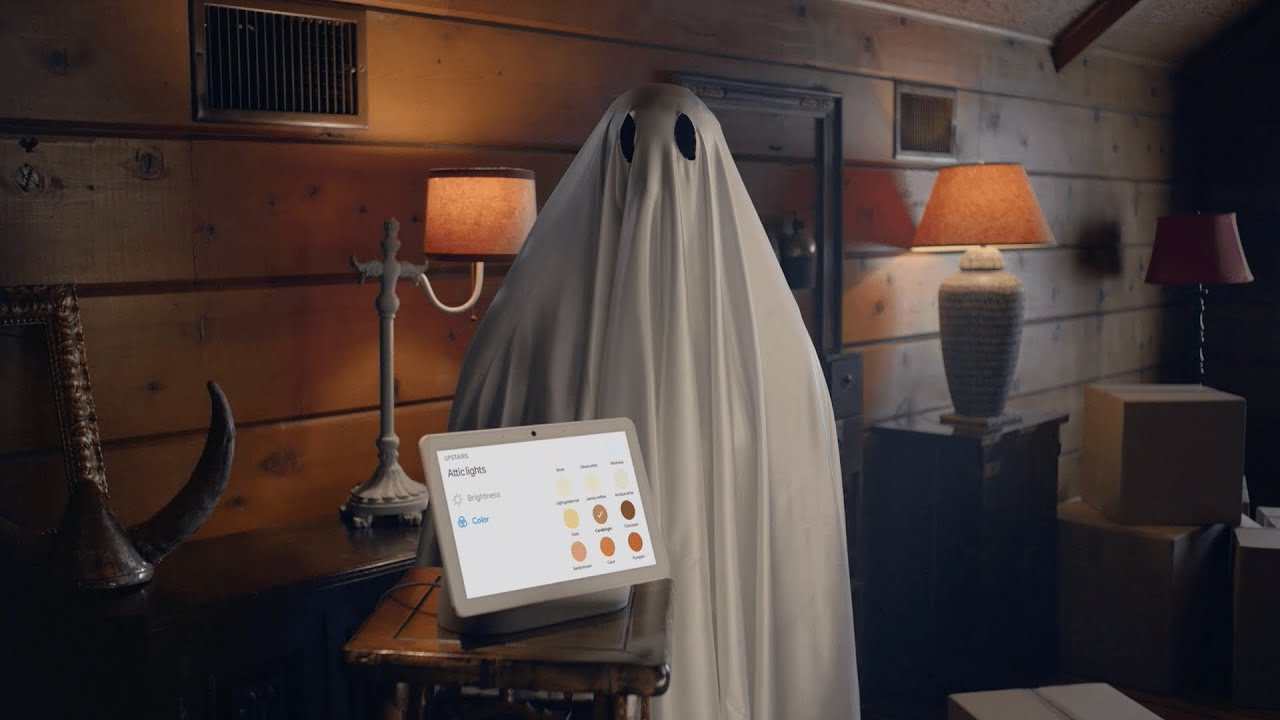 Nest Hub Max | The Google Ghoul Glower (How-to)
