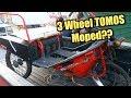 3 Wheel Moped - Will It Run??