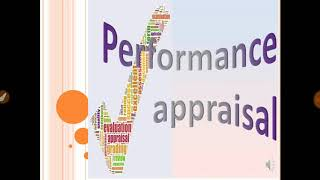 Performance Appraisal | Methods of Appraisal | Part 1 (in Hindi)
