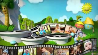 Видео для детского слайд шоу