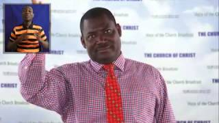 Preacher Dan Owusu Asiamah, Church of Christ, Ghana  Generational Curses Part 1