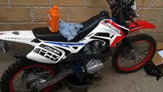 ¿Como hacer cambio de aceite a moto?    dm125 italika
