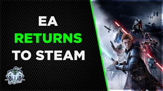Corporate greed has driven EA to return to Steam, Still requires EA Origin