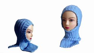 Детская шапка шлем спицами(Детская шапка шлем спицами. Такая шапочка пригодится и для осени, и для зимы. Вяжется легко, резинкой 2*2...., 2015-09-06T14:50:04.000Z)