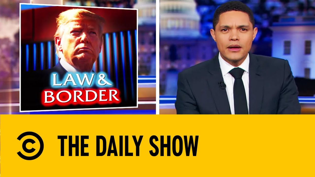 Trevor Noah Mocks Trump's Border Wall Following Smuggling Reports