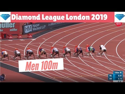100m Final Men London 2019 | Diamond League IAAF