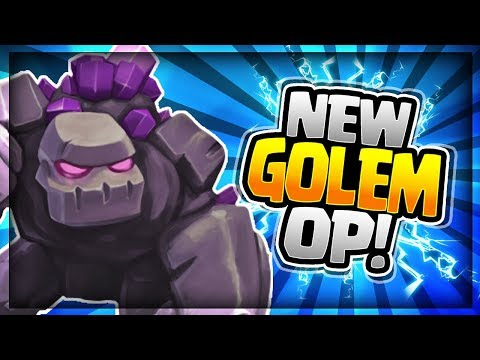 ULTIMATE NEW GOLEM DECK!! DESTROY the NEW META!! Clash Royale Golem Dark Prince Deck