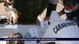 PALERMO, PISTOLA E SIGARETTE NELLA BARA DEL BOSS BADALAMENTI del 15-07-2017