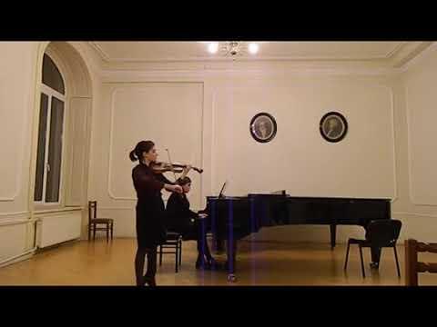 Brahms Violin Concerto part 1