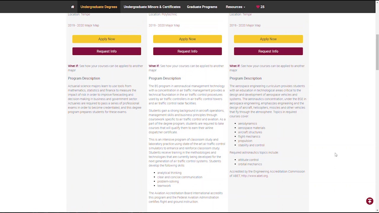 Graduate Degrees & Certificates|ASU Degree Search