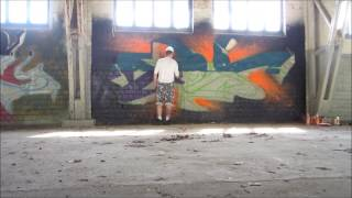 Graffiti: Ames One in Poland.