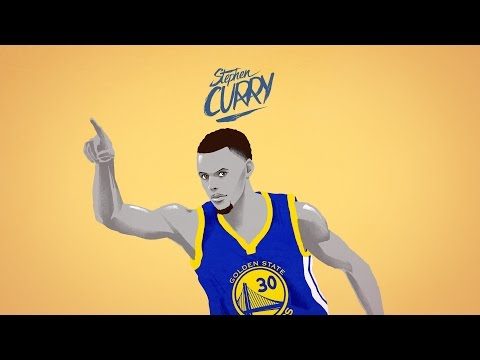 STEPHEN CURRY - 24 game win streak - animation - 2015