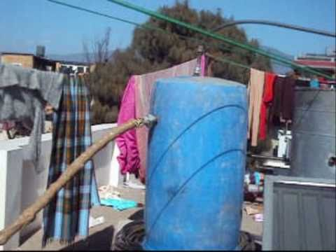 DIY Solar Water Heater Innovation for 70$