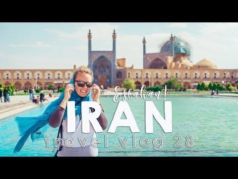 Visiting an Iranian home in Esfahan! | VANLIFE TRAVEL VLOG 28