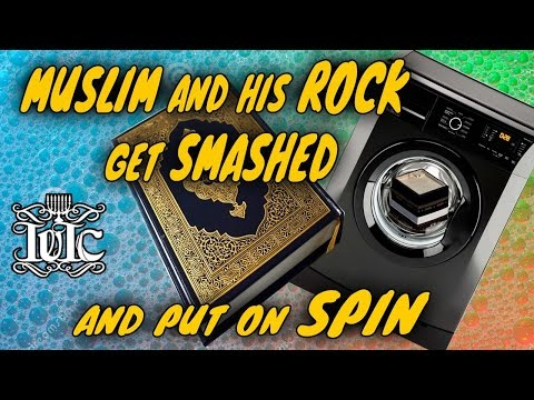 The Israelites: Muslim and His Rock Get Washed And Put On Spin Cycle!!!!
