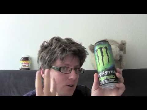 Monster Rehab Energy Drink Test