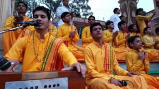 Parmarth niketan aarti- hanuman chalisa 18th February  2016