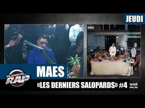 Youtube: Planète Rap – Maes«Les derniers salopards» #Jeudi