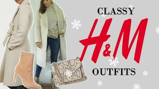8 CLASSY Winter Outfits from H&M | Fashion over 40