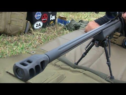 .338 Lapua Magnum: First Shot Reactions, Barrett & Savage