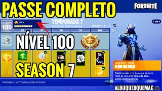 FORTNITE-BUYING ALL THE BATTLE PASS (ALLE KATEGORIEN) VON SEASON 7 | BATTLE ROYALE