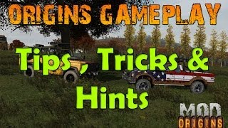 Dayz Origins: Gameplay - Tricks, Tips & Hints