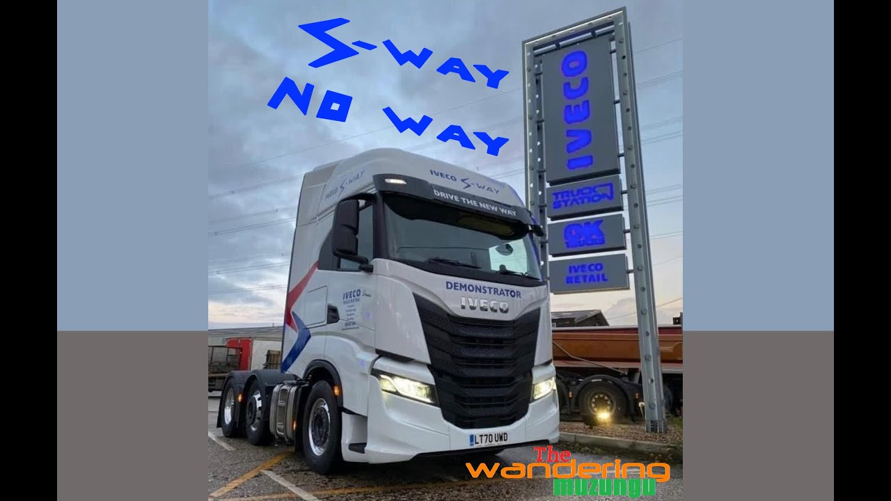 A tramper drivers review of the Iveco S Way