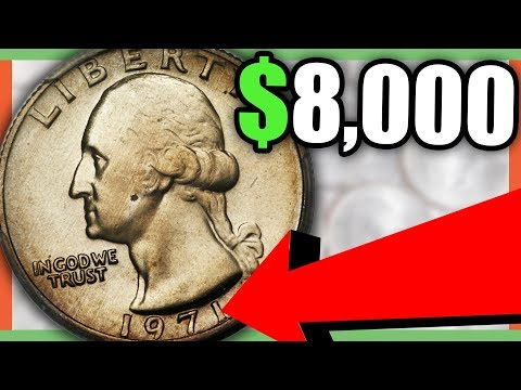$8,000 RARE QUARTER - VALUABLE QUARTERS TO LOOK FOR!