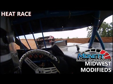 Monett Speedway Midwest Mod Heat #3 July 2nd 2017