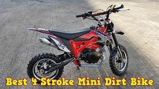 Best 4 Stroke 50cc Mini Dirt Bike - Pit Bike