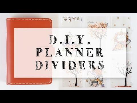 DIY Fall Planner Dividers (Filofax)