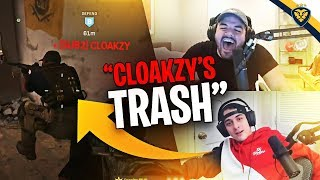 BULLYING CLOAKZY FOR 10 MINUTES! (Modern Warfare)