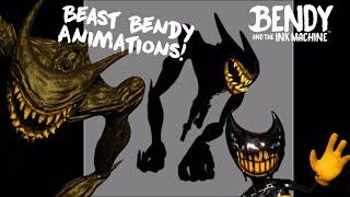 All Beast Bendy Animation Files || BATIM Chapter 5