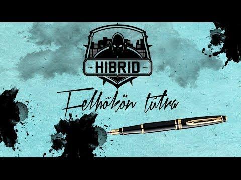 HIBRID - FELHŐKÖN TÚLRA (OFFICIAL LYRICS VIDEO)