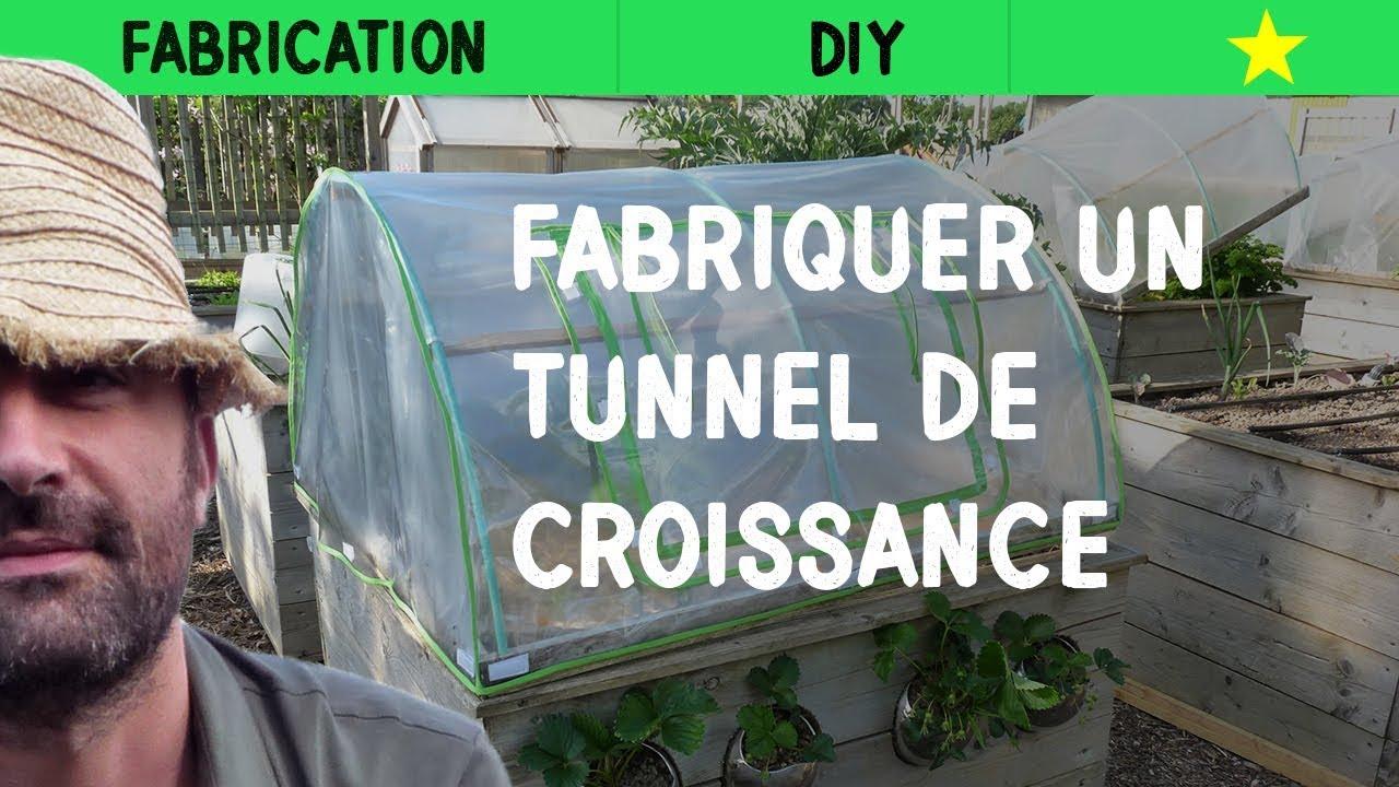 Fabriquer un tunnel de croissance youtube - Fabriquer un porte outils de jardin ...